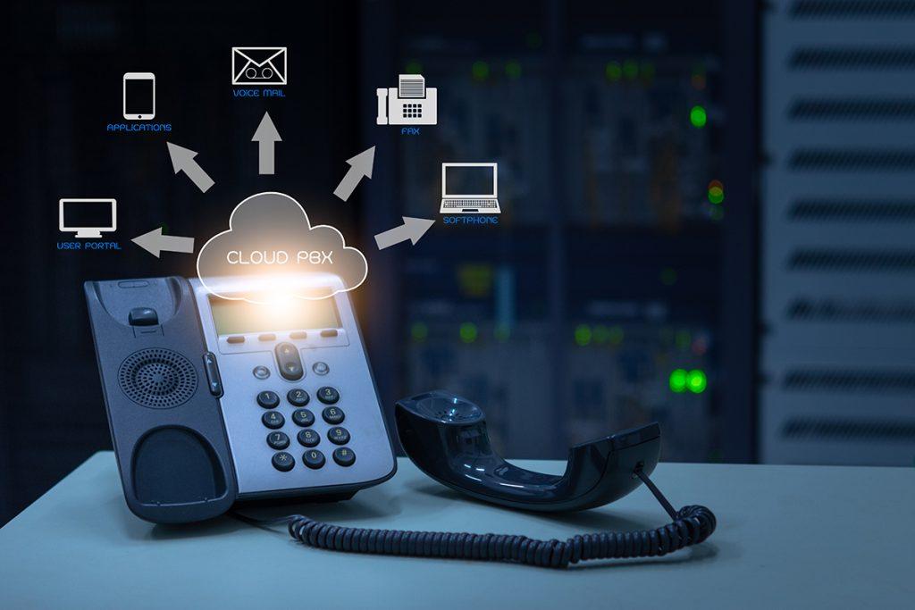 standard téléphonique en cloud centrex